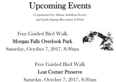 Calendar of Bird Events